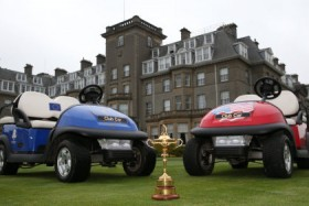 Club Car at Ryder Cup